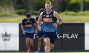 Bryce Cartwright training