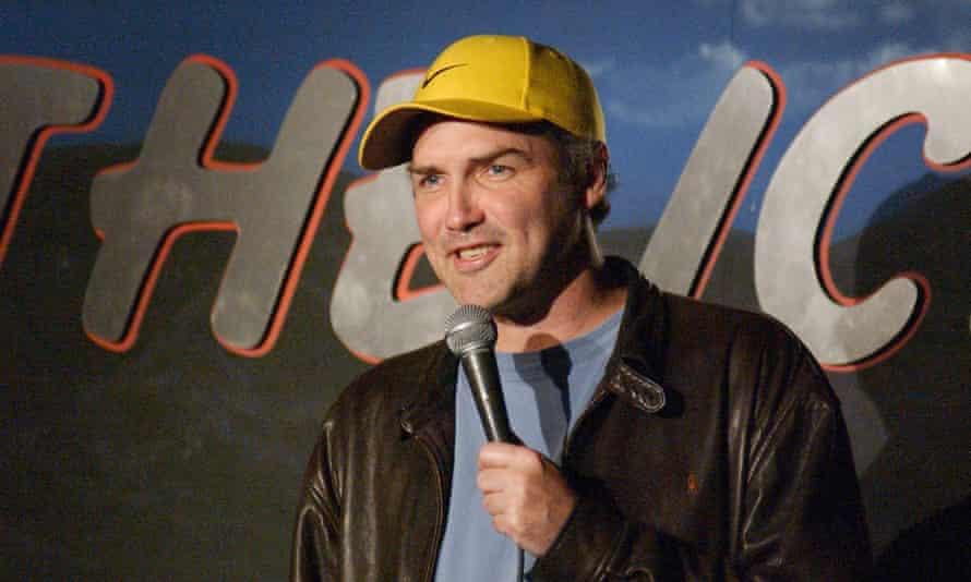 A deep commitment to comedy … Norm Macdonald.