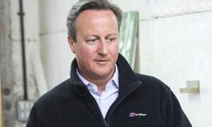 David Cameron on Friday
