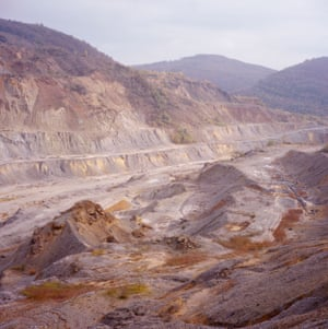 Moldova Nouă, 2014 This large mine in the west of Romania in Caraş-Severin county has the second largest copper reserve in the country