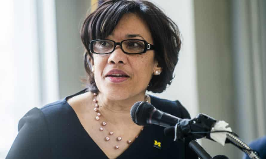 Mayor Karen Weaver in Flint, Michigan, where lead poisoned the water for thousands of people for months.