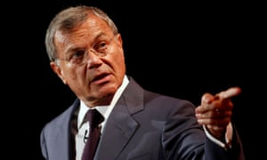 WPP's Sir Martin Sorrell: wagging the finger at Brexit backers.
