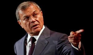 WPP founder and CEO Martin Sorrell