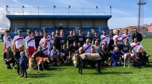 The game in April 2019 raised money for Whitby Dog Rescue.