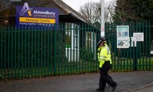 Almondbury Community School in Huddersfield.