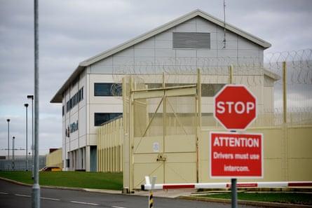 HMP Oakwood prison near Wolverhampton, where a coronavirus case has been confirmed.