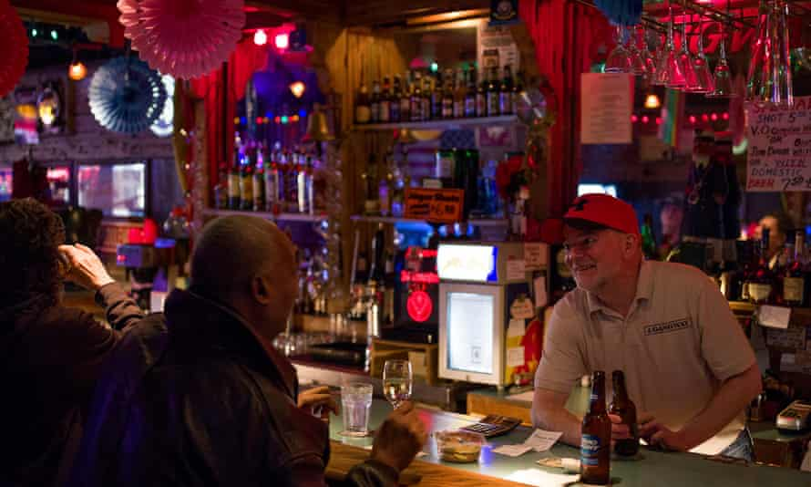 The Gangway, a longtime neighborhood gay bar in San Francisco that is due to close.