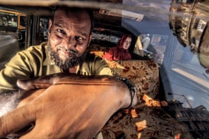 Over a four year period Dougie Wallace documented these elaborate cabs