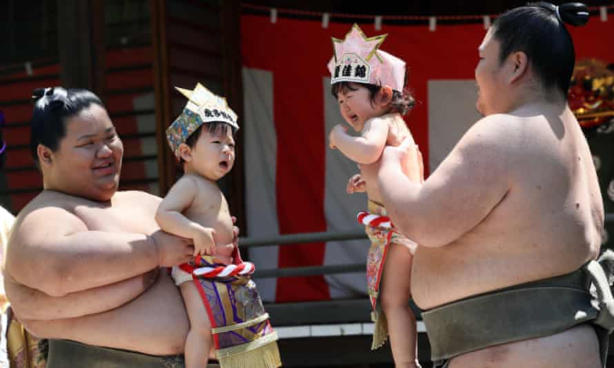 Babies in Japan are expected to live almost until the age of 84.