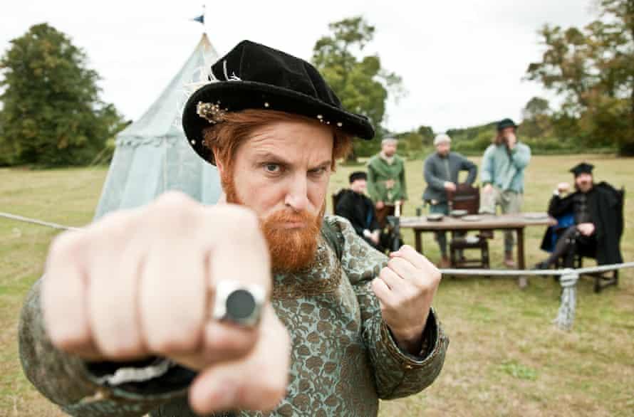 Ben Willbond as Henry VIII in Horrible Histories