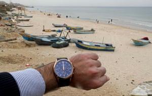 A beach in the northern Gaza Strip