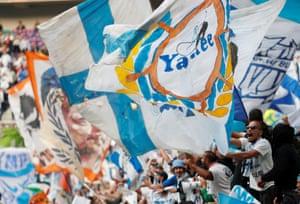 Marseille fans.
