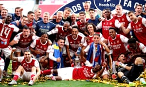 Arsenal 2 1 Chelsea Fa Cup Final 2020 As It Happened Football The Guardian