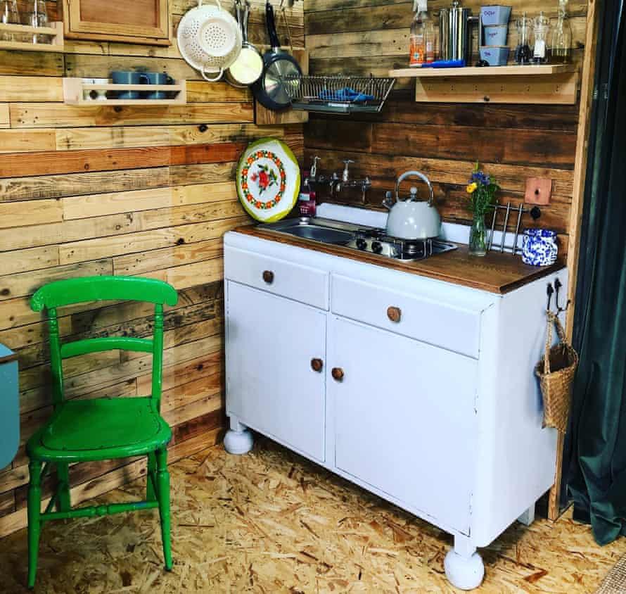 `Kitchen at Albion Nights, Bungay, Norfolk
