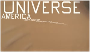 Ed Ruscha Universe with Wrinkles, 2016 Acrylic on canvas, 72 x 124 inches 182.9 x 315 cm