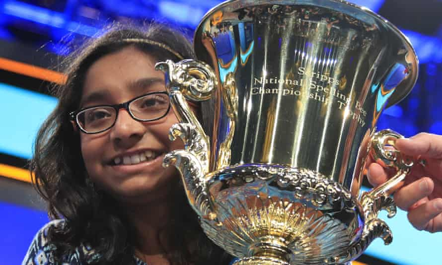 Ananya Vinay, 12, from California, won the 90th Scripps National Spelling Bee in 2017
