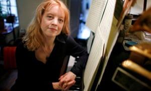 Jazz composer Maria Schneider.