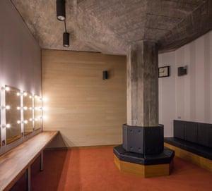 A new QEH dressing room.