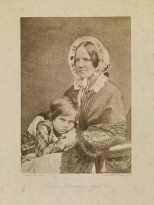 Emma Darwin with Leonard. DAR 225: 93