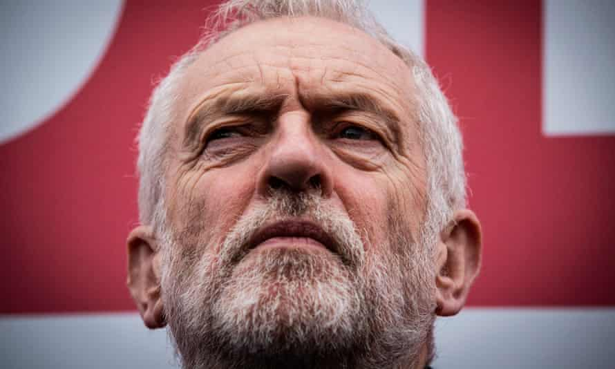 Jeremy Corbyn during the 2019 election campaign.