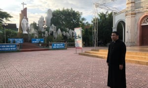 Father Anton Dang Huu Nam led a memorial service to the victims at the weekend.