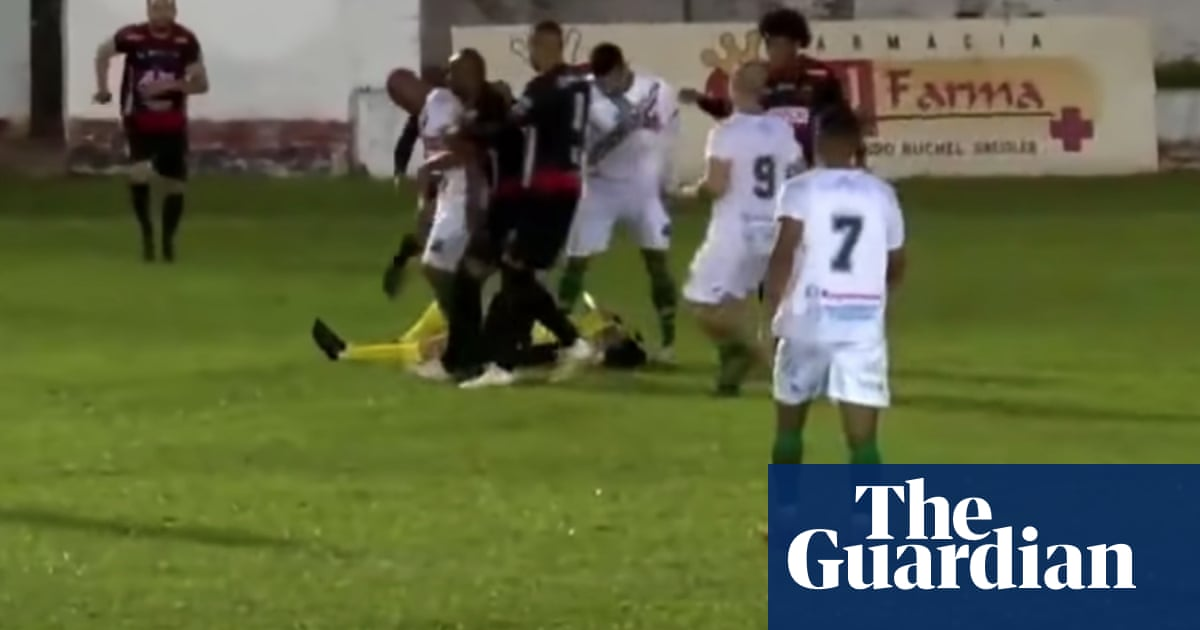 Brazilian player charged with attempted murder after attack on referee