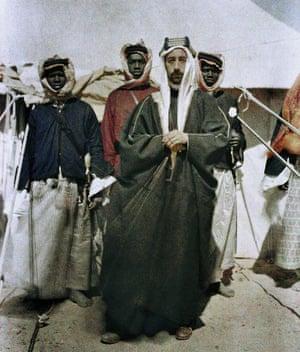 Faisal bin Hussein bin Ali al-Hashemi (1885-1933) in 1917.