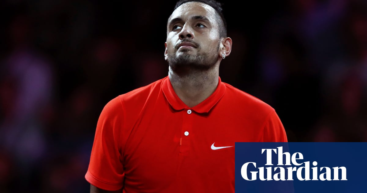 Nick Kyrgios given suspended 16-week ban for 'aggravated behaviour'