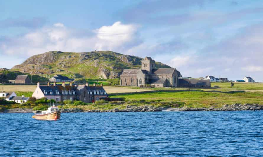 Iona Abbey, founded in AD563