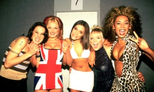 The Spice Girls at the Brit Awards in 1997.