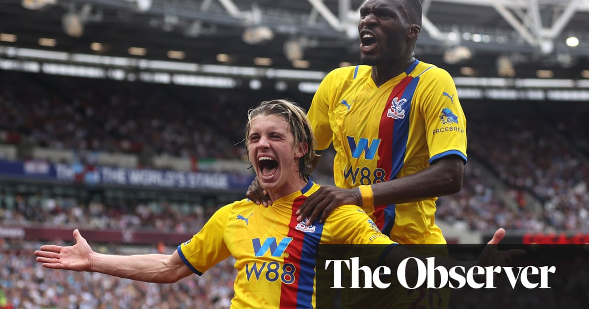 Conor Gallagher at the double as Crystal Palace fight back to thwart West Ham