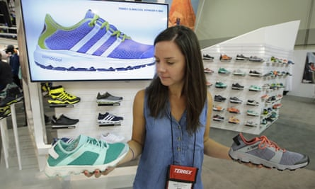 New models on show at a US trade fair from Adidas, which has had a bumper 2016 so far.