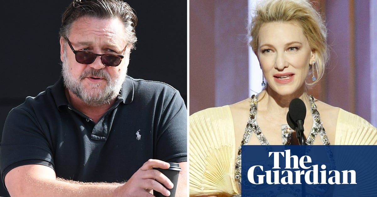Russell Crowe and Cate Blanchett use Golden Globes speeches to link Australian fires to climate crisis