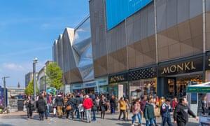 Primark's Birmingham store, its largest ever.