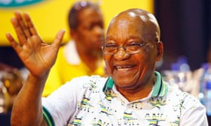 Jacob Zuma at the conference