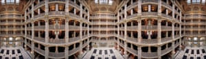 George Peabody Library, Baltimore, 2010;