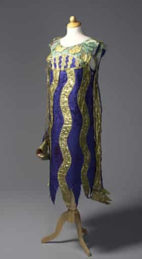 Natalia Goncharova, costume for a squid in Sadko, 1916, danced by the Ballets Russes.