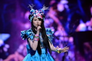 Germany's Jamie-Lee performs the song 'Ghost'