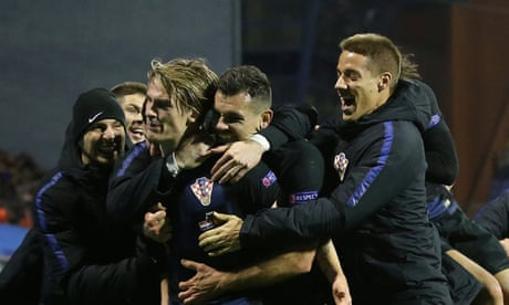 Croatia stun Spain to set up Nations League decider against England