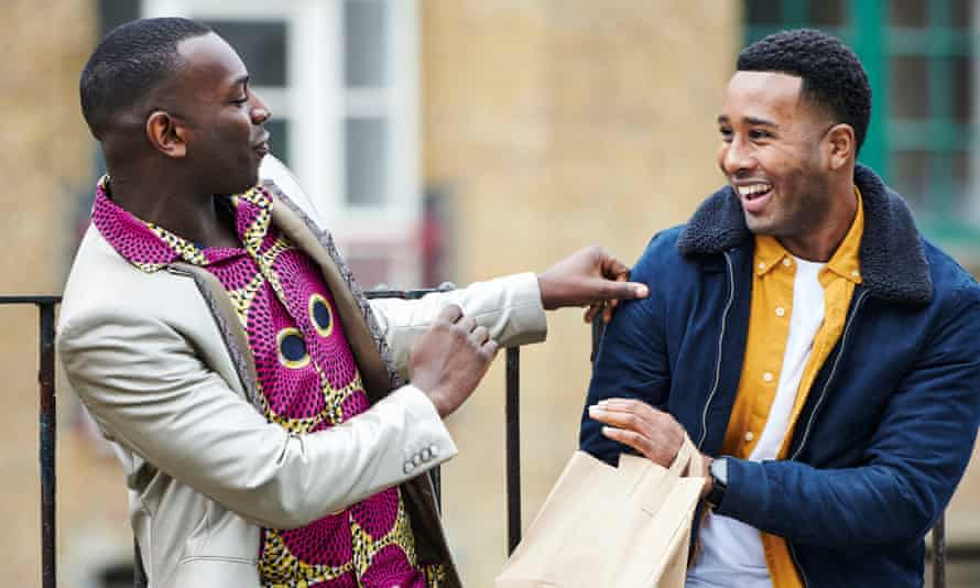 Kayode Ewumi and Trieve Blackwood-Cambridge in Enterprice