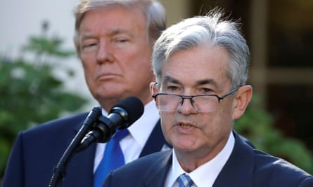 The highly unusual move comes as Fed chairman Jerome Powell has been facing intense criticism from Donald Trump.