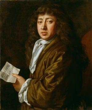 Samuel Pepys by John Hayls, 1666.