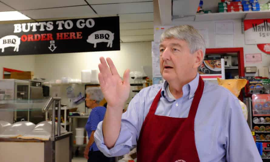 Wade Reich, proprietor of Butts To Go, Pell City.