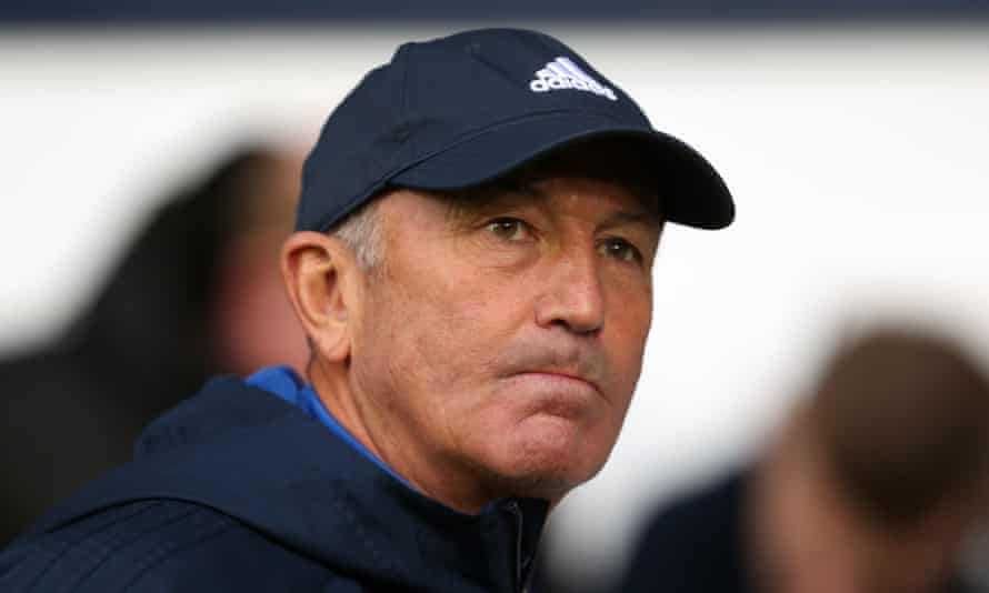 Tony Pulis as West Brom manager
