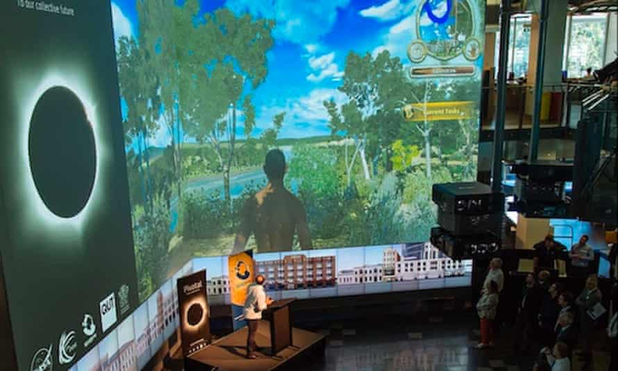 Demonstration of Virtual Songlines in action