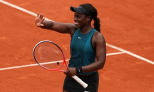 Sloane Stephens has dropped only one set on her way to the semi-finals