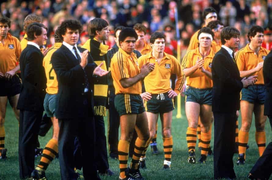 The Wallabies' 1984 grand slam-winning team