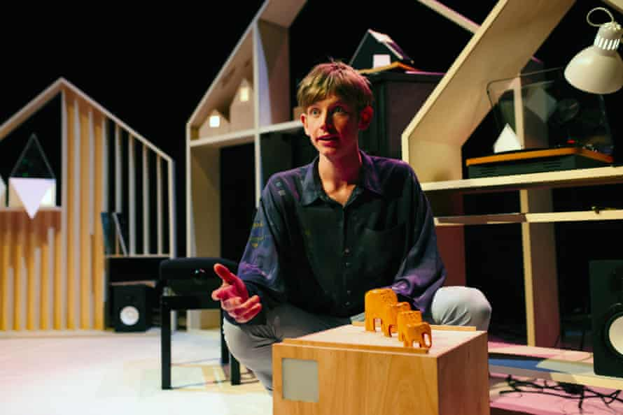 Toby Thompson in I Wish I Was a Mountain, designed by Anisha Fields.