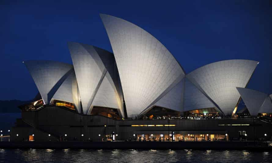 Sydney Opera House, which will go dark for Earth Hour.