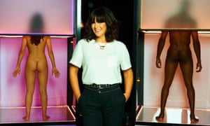 Anna Richardson, the presenter of Naked Attraction.